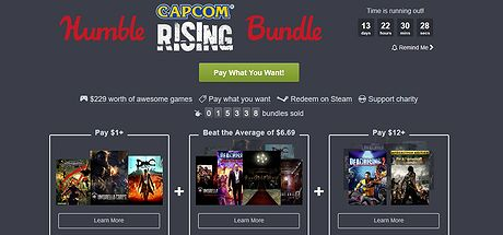 Humble Bundle Capcom Rising 110717