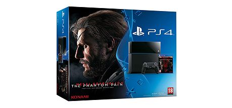 PS4 500GB MGS Phanton Pain 01115