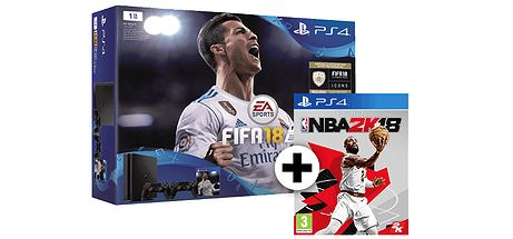 PS4Slim 1TB FIFA18 NBA2K18 2oDS4 230917