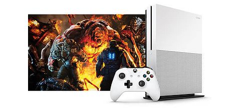 XBOX One S 1TB + Anthem + Fallout 76